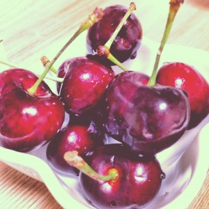 I love cherries!