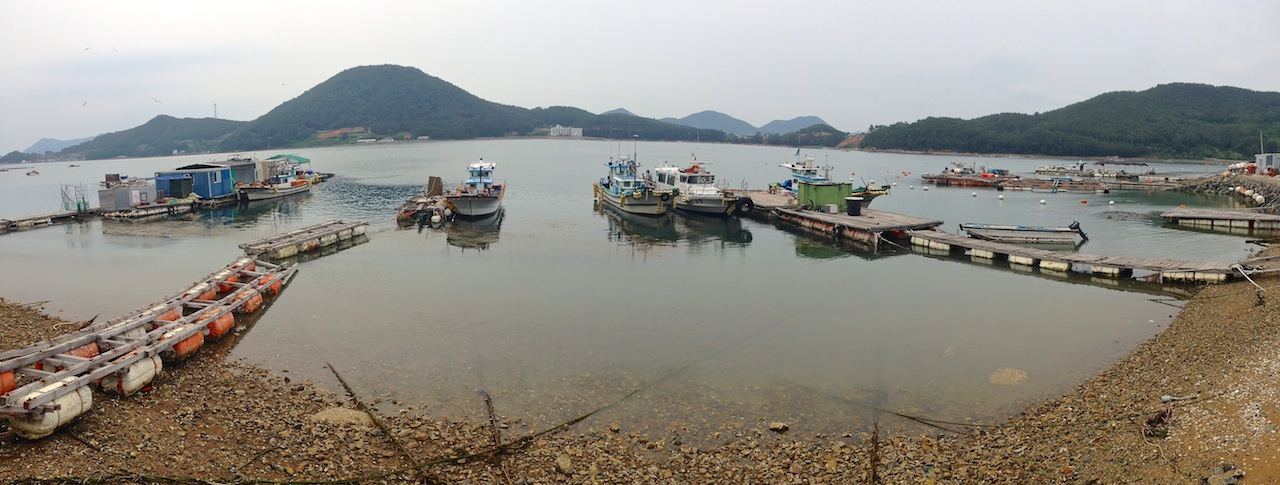 fishing docks, Geoje, South Korea