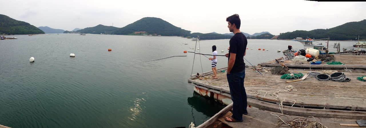 south korea, fishing