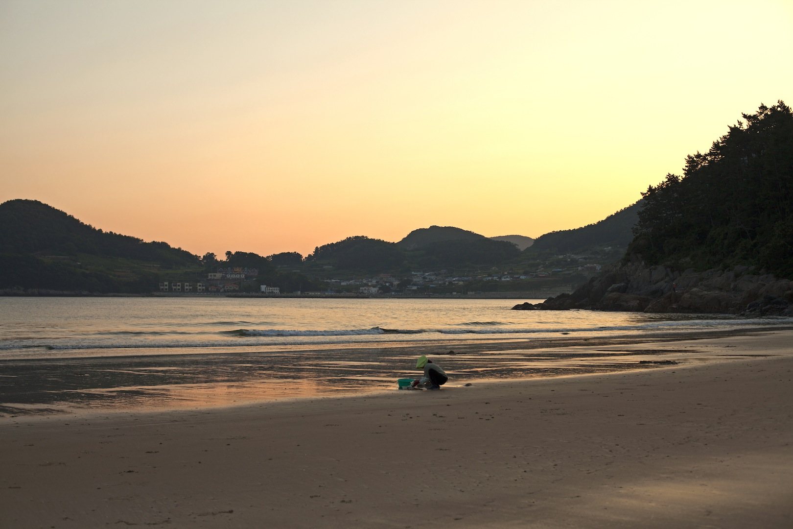 Camping in Namhae