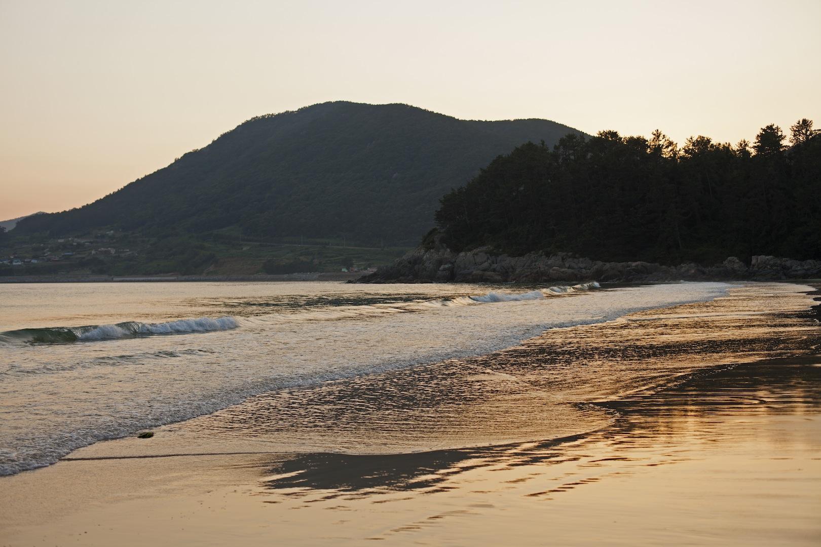 Sunset in Namhae South Korea