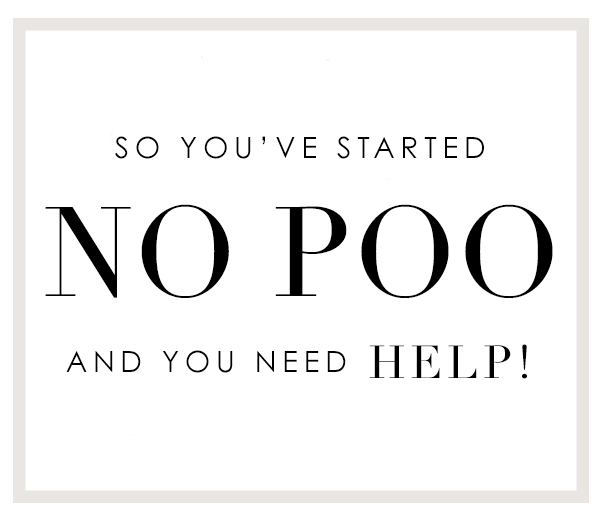 So you've started No-Poo and you need help! FAQ guide to help you understand your hair.