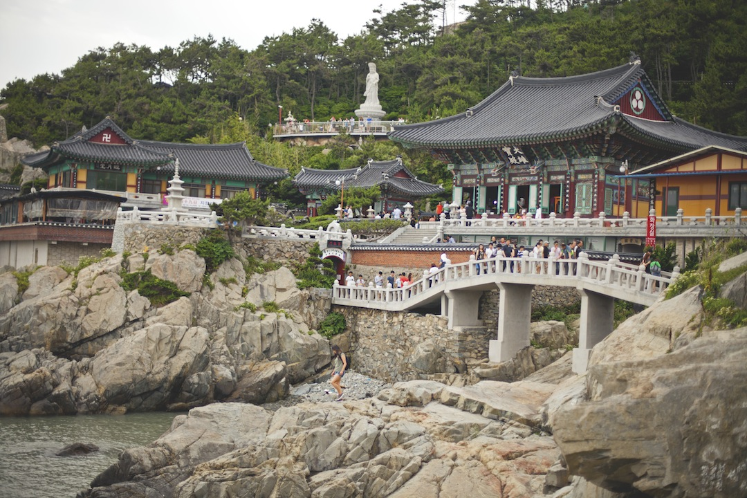 Temple on the sea-Yonggungsa Temple, Busan, South Korea
