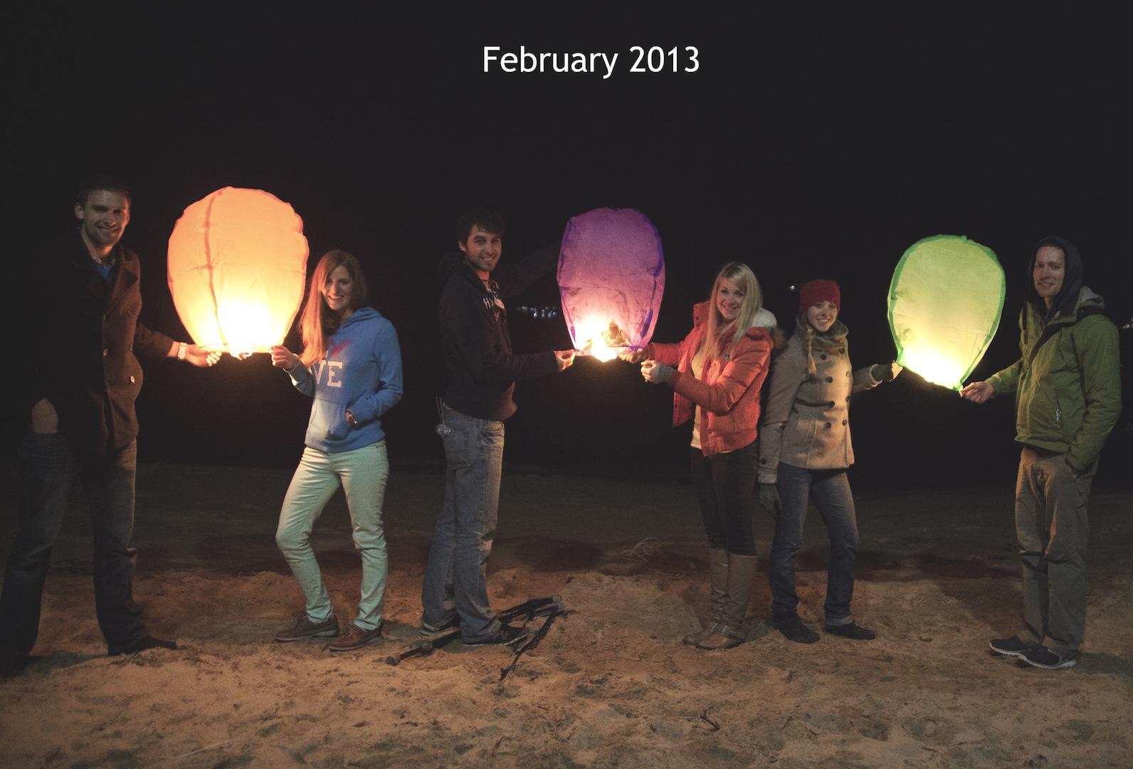 Sky lanterns!