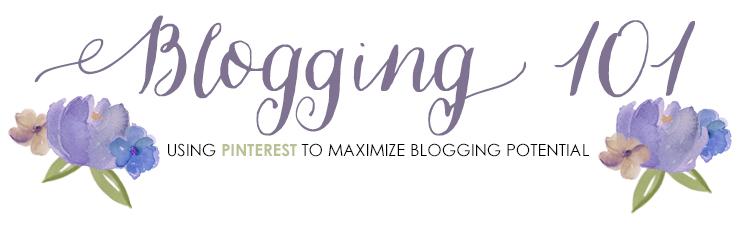 Utilizing Pinterest to maximize your blogging potential.