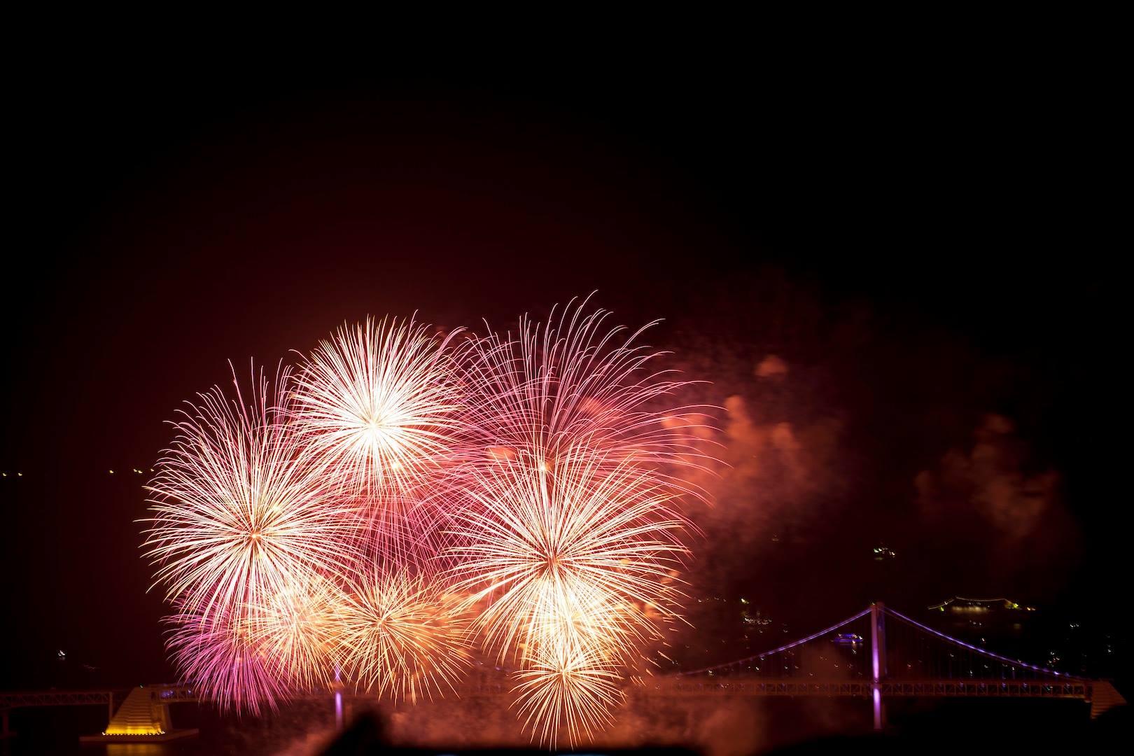 Busan Fireworks Festival, October 2013