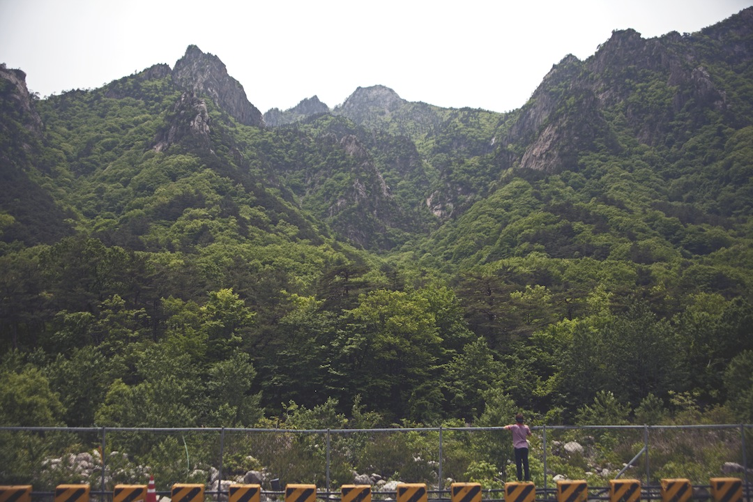 Seoraksan National Park, May 2013