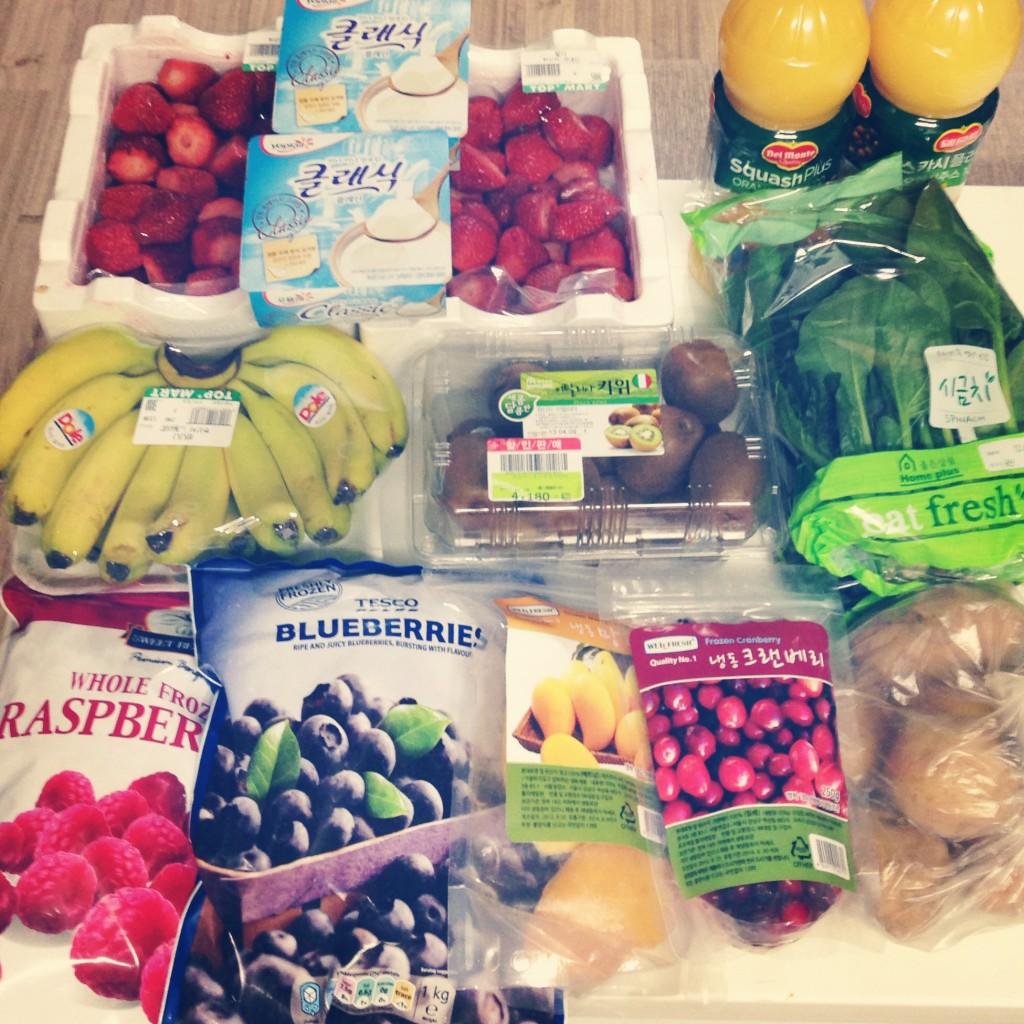 Korean Shopping Trip