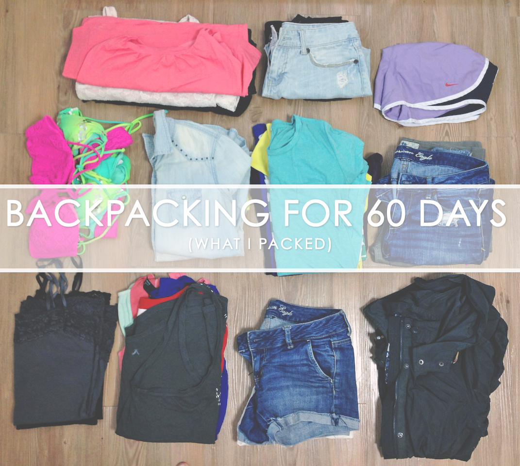 Backpacking for 60 days