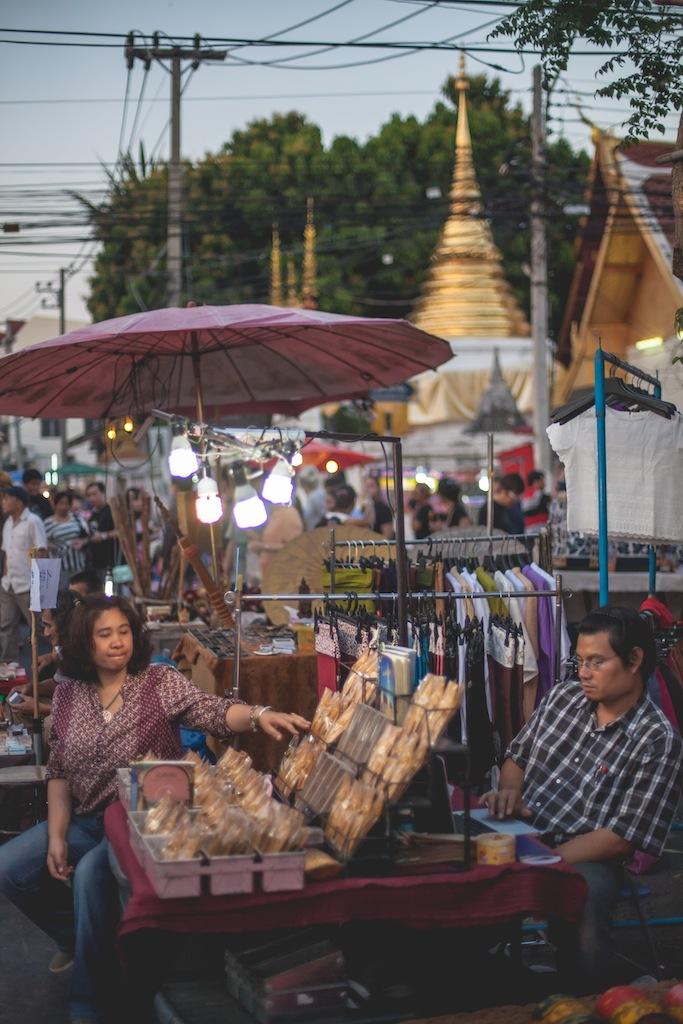 Sunday Night Market, Chiang Mai, Thailand