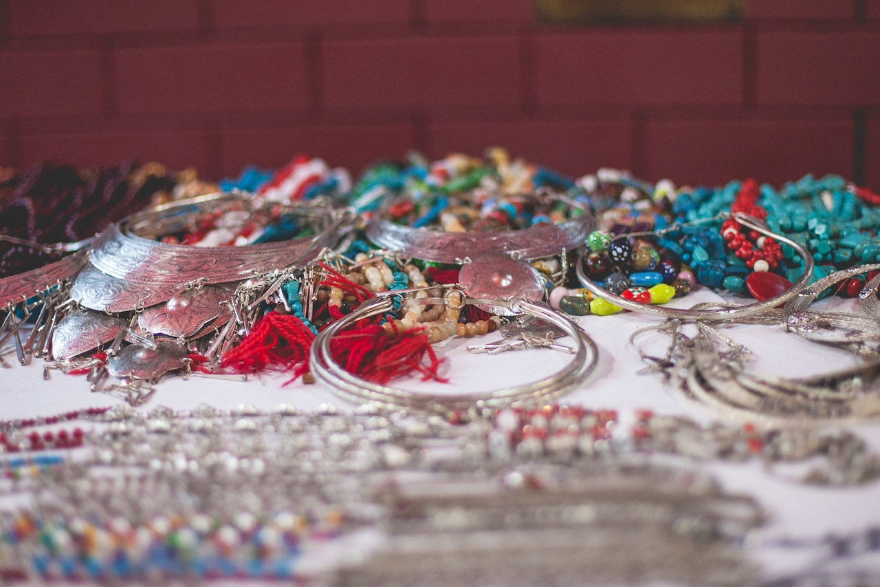 Jewelry at the Sunday Night Market, Chiang Mai
