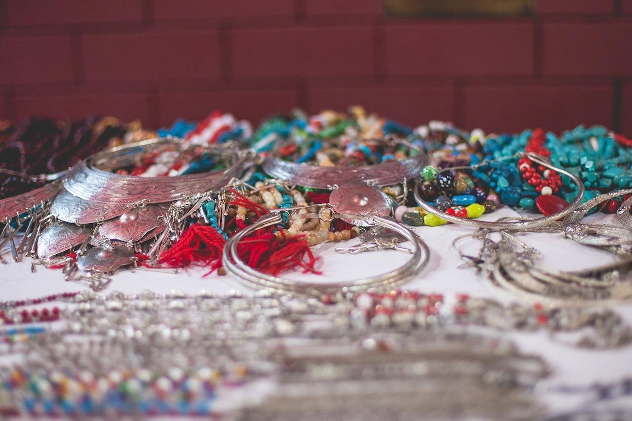 Jewelry at the Sunday Night Market, Chiang Mai