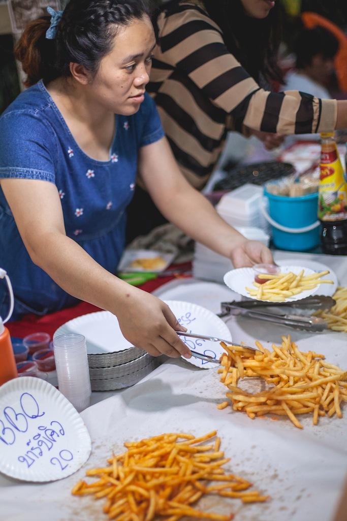 Snacks at the Sunday Night Market, Chiang Mai