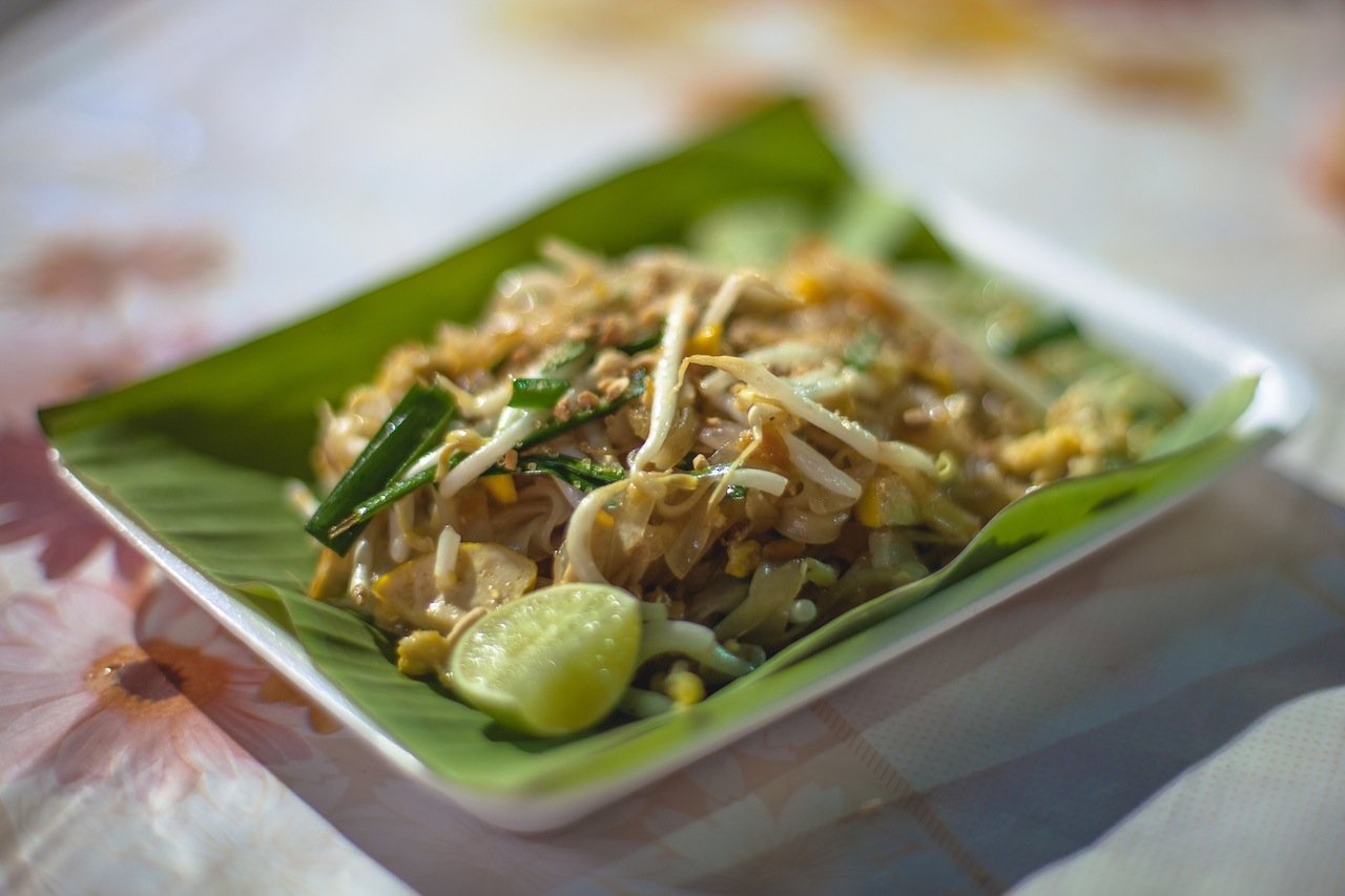 Pad Thai at the Sunday Night Market, Chiang Mai, Thailand