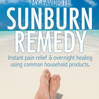 Sunburn Remedy: Instant Pain Relief and Overnight Healing