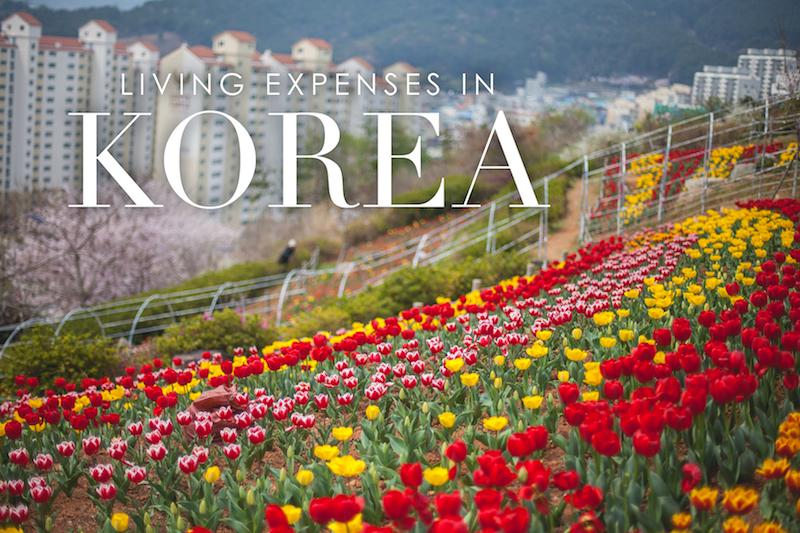 Living Expenses in Korea