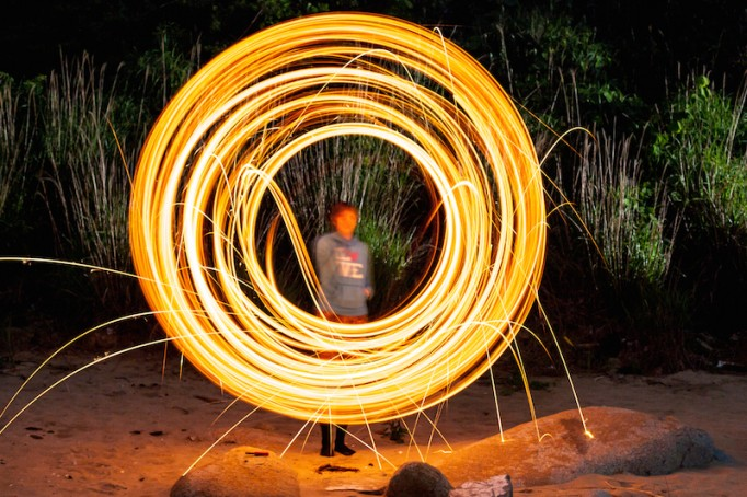 Steel Wool Photography Tutorial