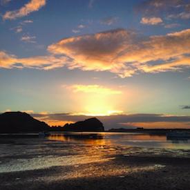 Northland sunrise