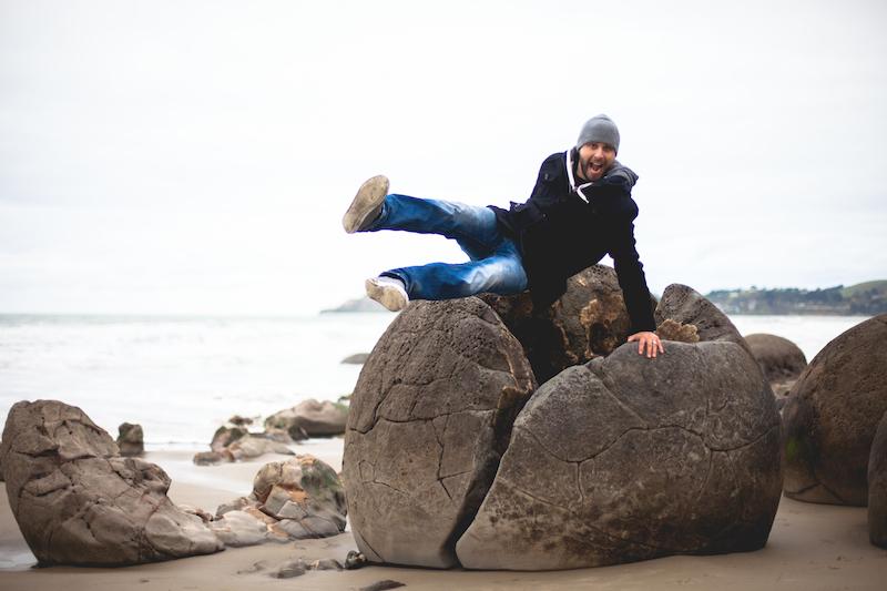 Moeraki Boulders-17