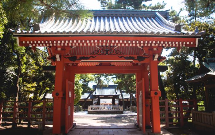 Sumiyoshi-taisha Shrine