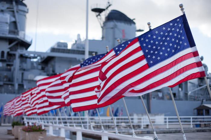 USS Missouri at Pearl Harbor, Oahu, Hawaii