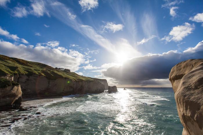 Tunnel Beach, Dunedin