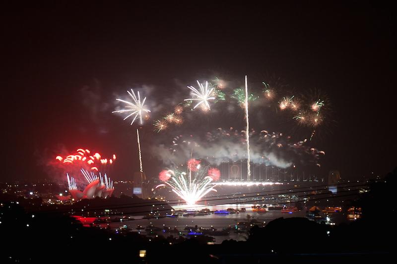 Sydney Harbor Fireworks-10