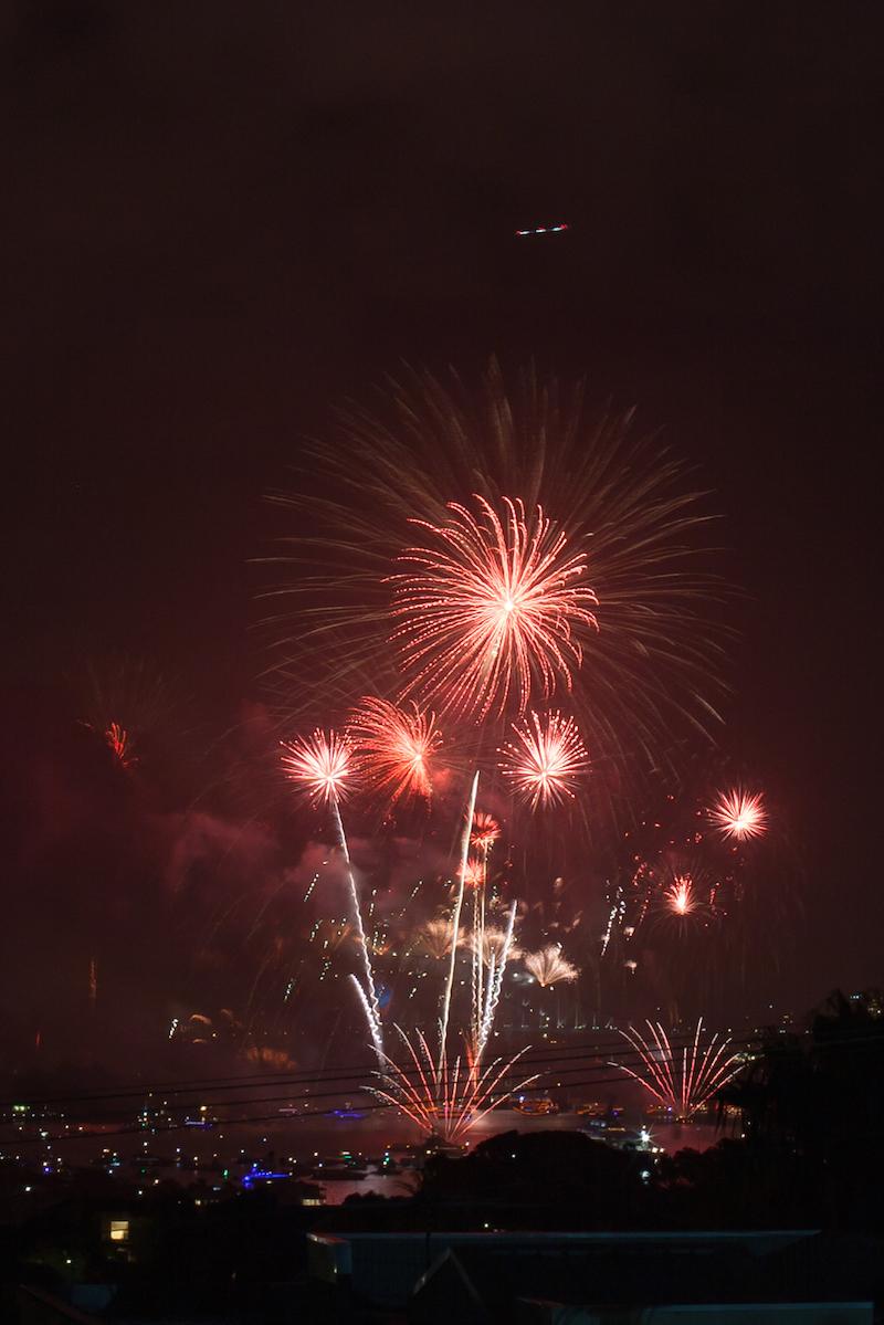 Sydney Harbor Fireworks-11