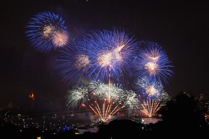 Sydney Harbor Fireworks-12
