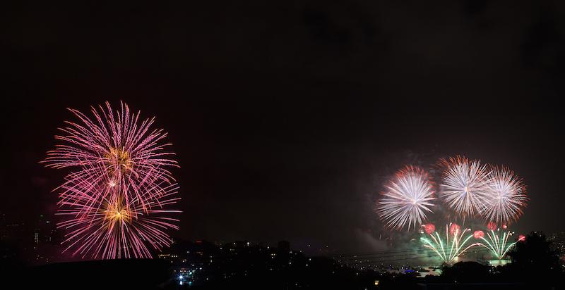 Sydney Harbor Fireworks-13