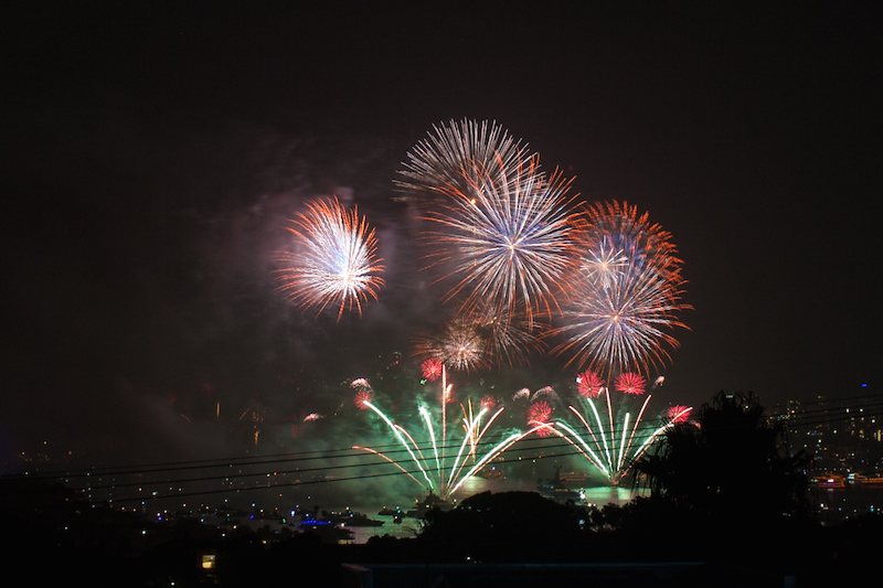 Sydney Harbor Fireworks-14