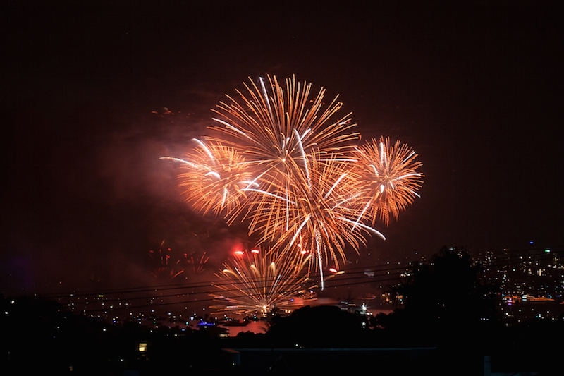 Sydney Harbor Fireworks-15