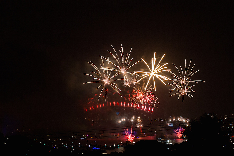 Sydney Harbor Fireworks-16
