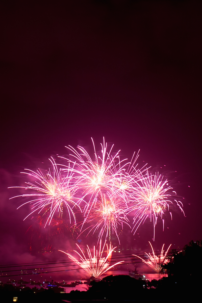 Sydney Harbor Fireworks-17