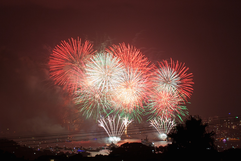 Sydney Harbor Fireworks-18