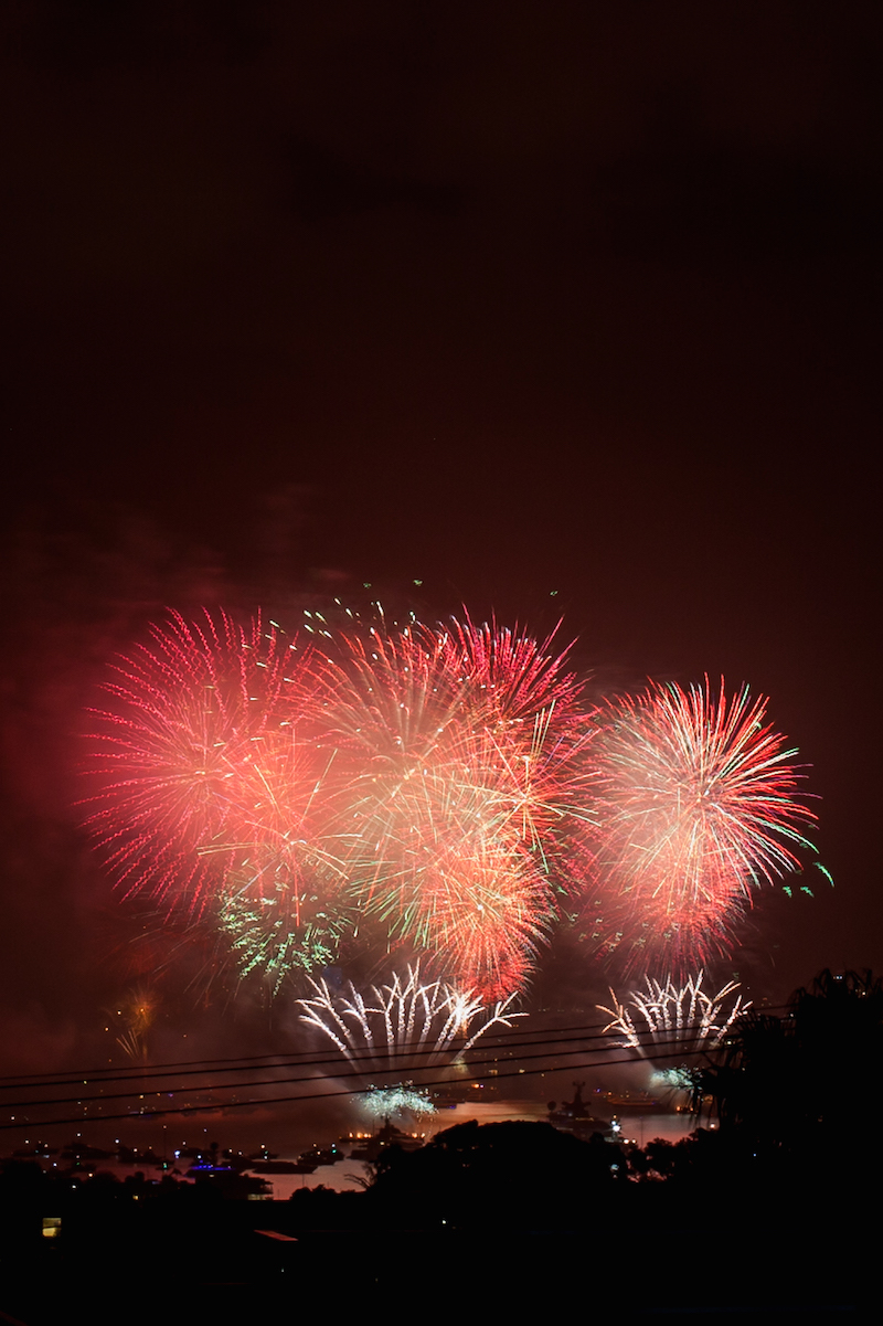Sydney Harbor Fireworks-19