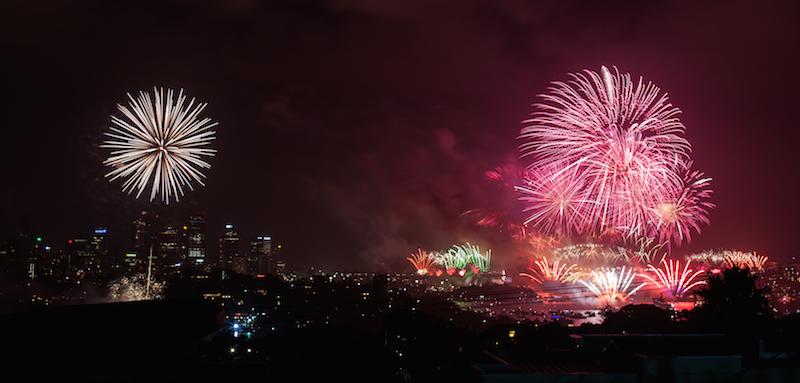 Sydney Harbor Fireworks-2