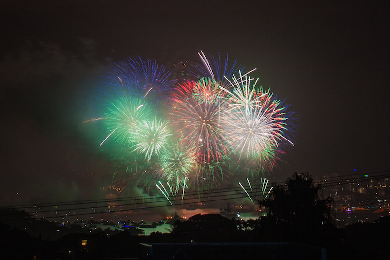 Sydney Harbor Fireworks-20