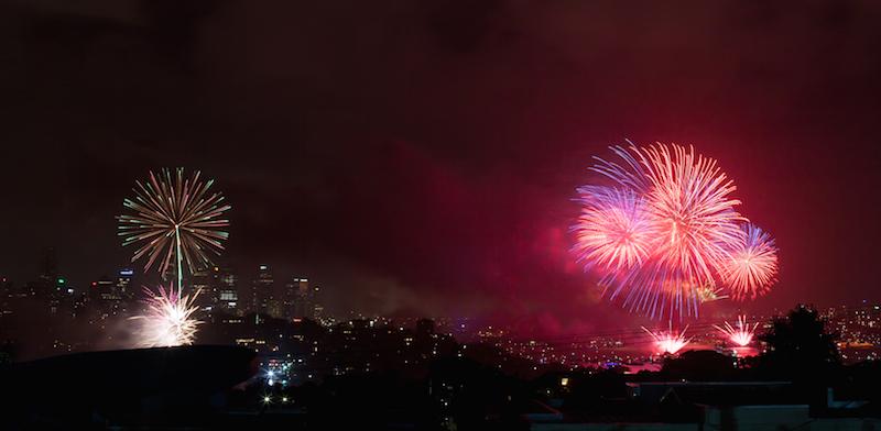 Sydney Harbor Fireworks-3