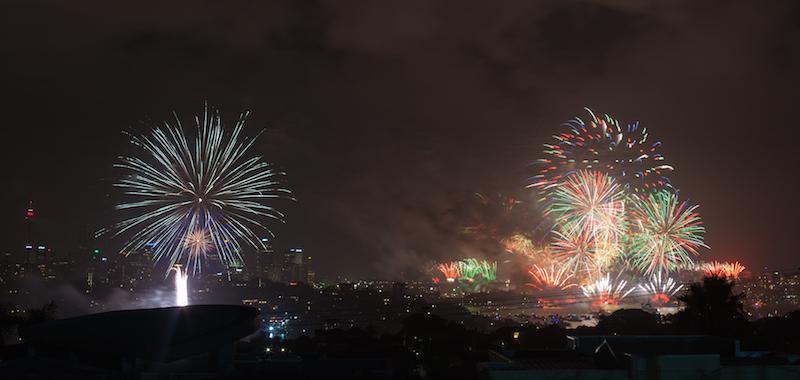 Sydney Harbor Fireworks-4