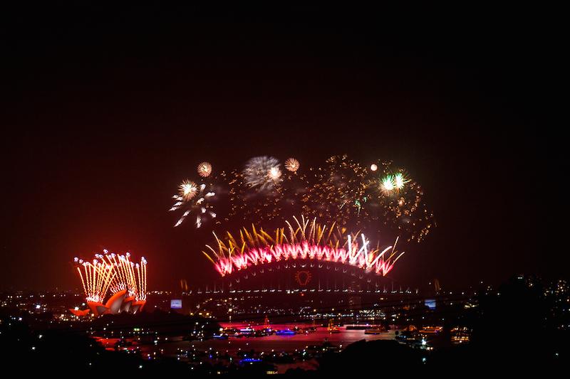 Sydney Harbor Fireworks-6