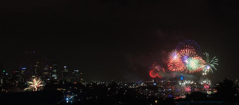 Sydney Harbor Fireworks-7