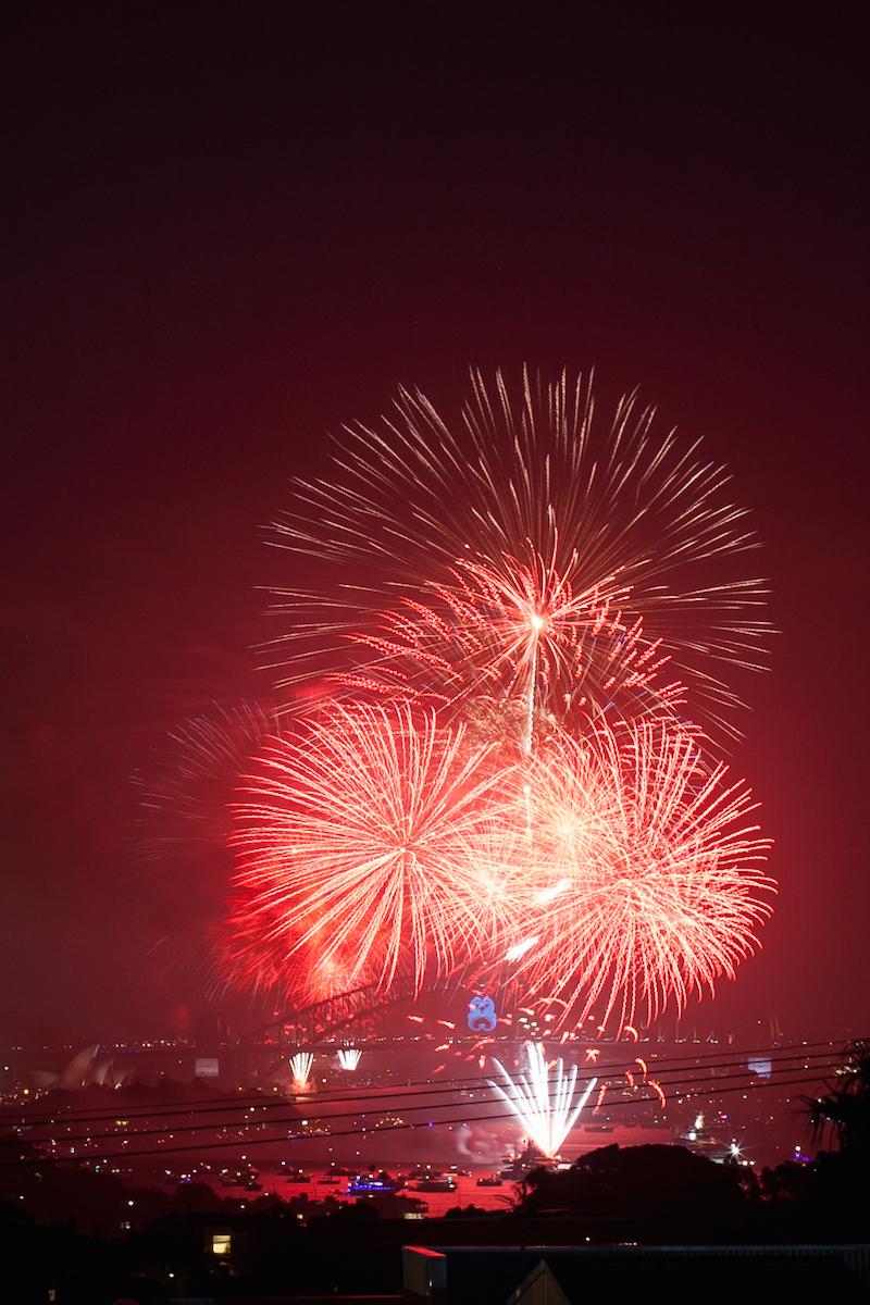 Sydney Harbor Fireworks-8