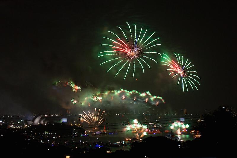 Sydney Harbor Fireworks-9