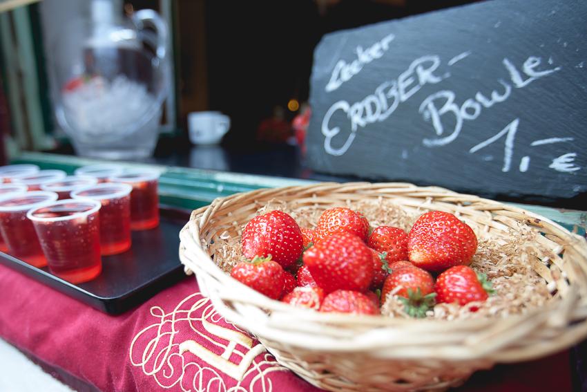 Erdber Bowle