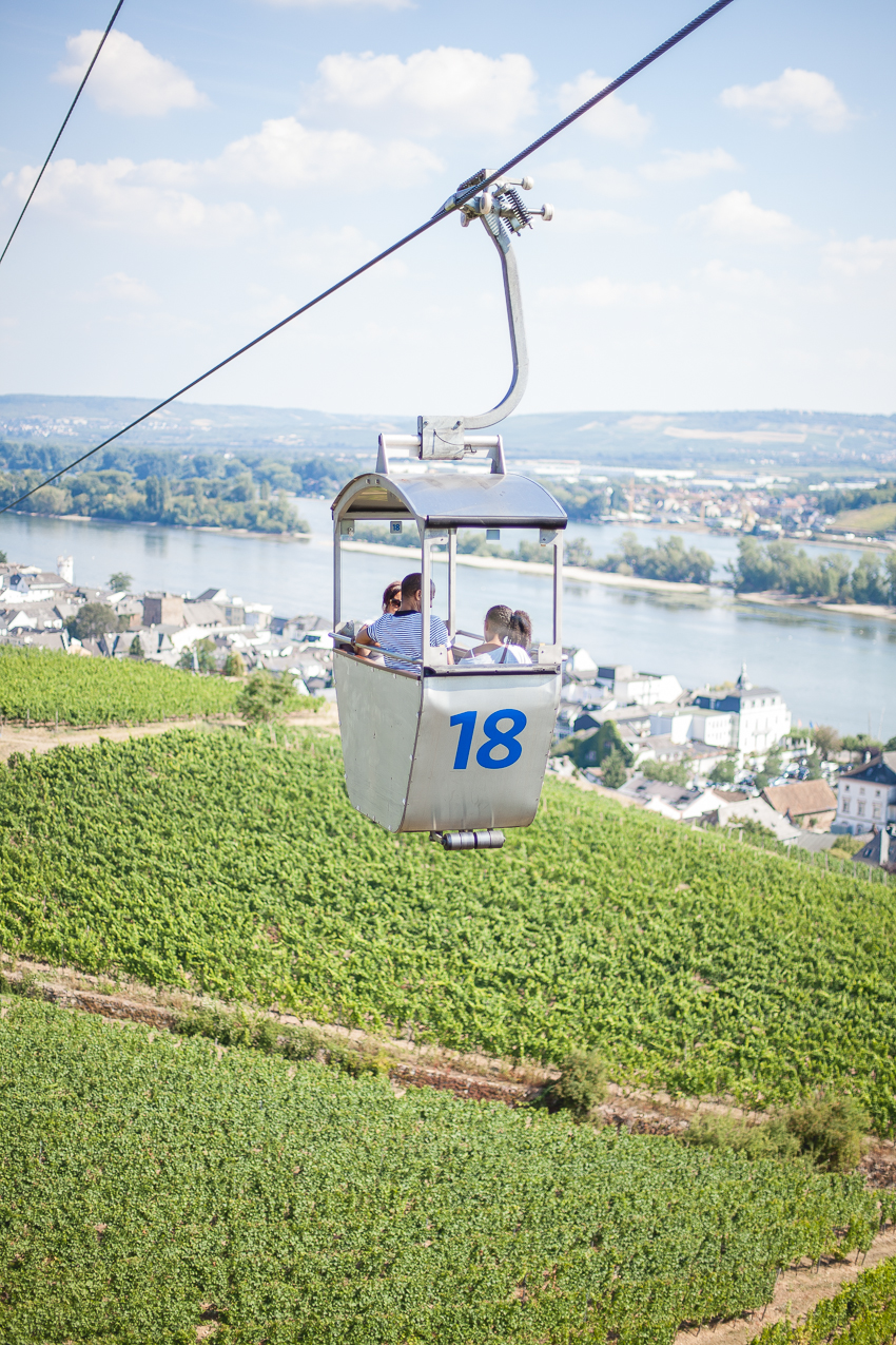 Cable Car on the Rhine River