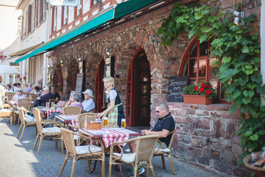 German cafe and restaurant