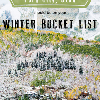Why Park City, Utah Should Be On Your Winter Bucket List