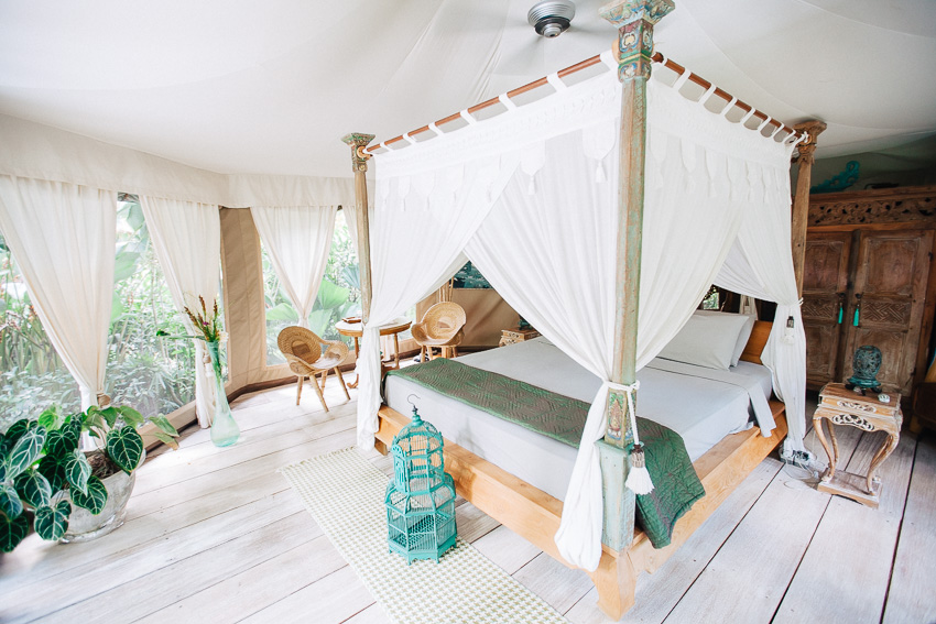 Glamping Bali with Sandat Tents - Living in Another Language