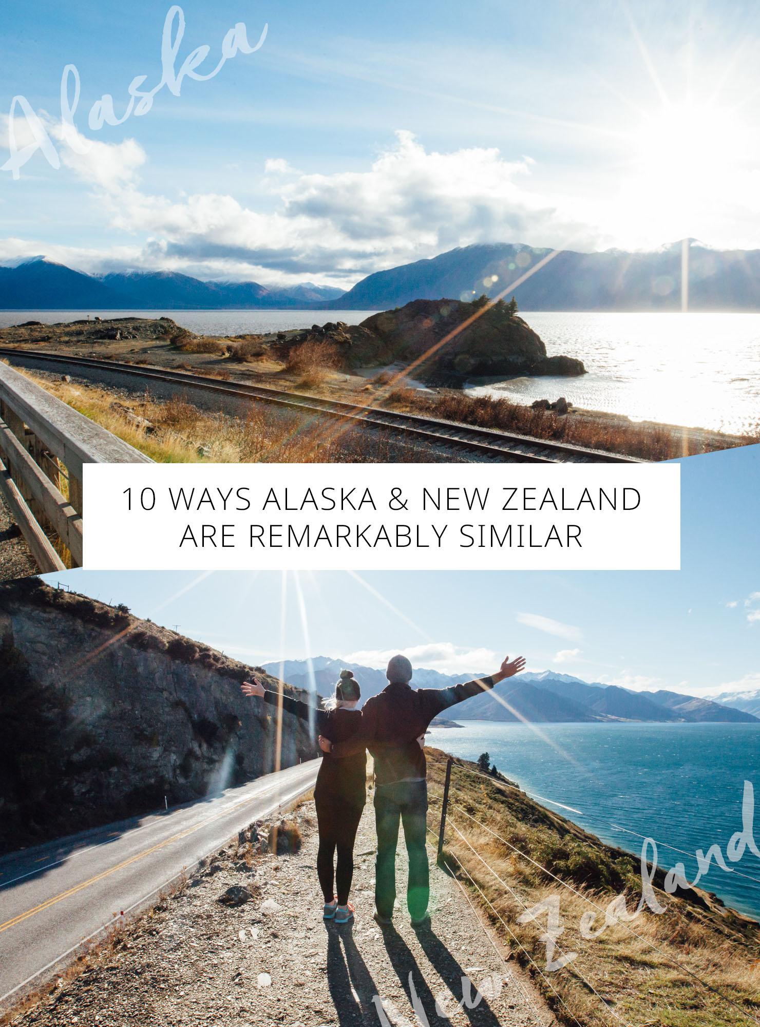 10 Ways Alaska and New Zealand Are Remarkably Similar